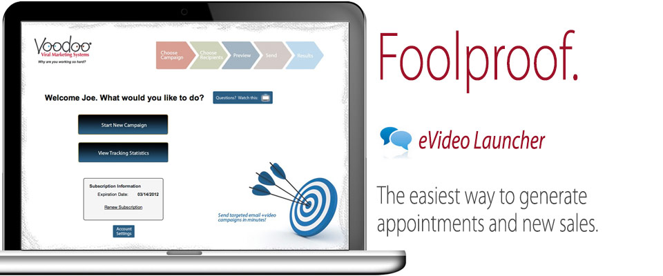 The foolproof eVideo Launcher