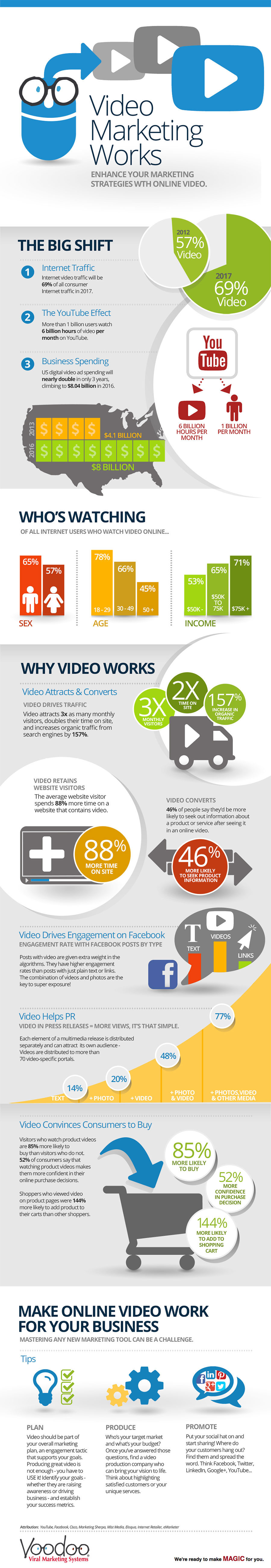 Video InfoGraphic January 2014